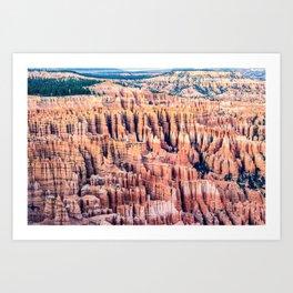 Utah: Bryce Canyon National Park Art Print