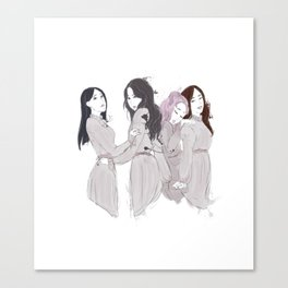 Angels unit Canvas Print