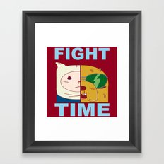 Fight Time Framed Art Print