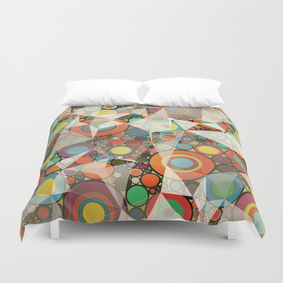 Rings pattern  Duvet Cover