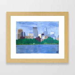 Calhoun Minneapolis Framed Art Print