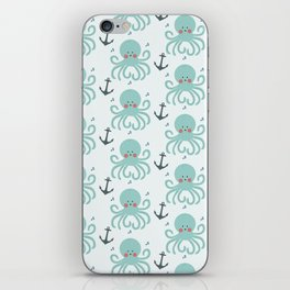 Squid Pattern iPhone Skin