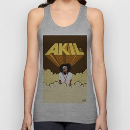 Akil The MC! Unisex Tank Top