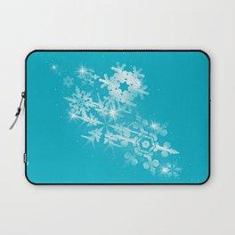 Snow Flakes of Hope Laptop Sleeve