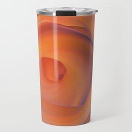 orange and violate gate colorful abstract Travel Mug