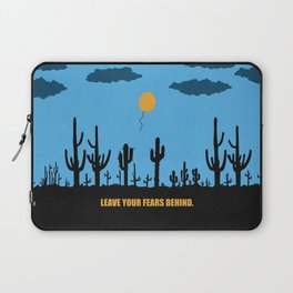 Lab No. 4 -Leave your fears behind corporate start-up quotes Poster Laptop Sleeve