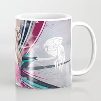 lucy Mugs featuring LUCY by Stéphanie Brusick / Art by shop