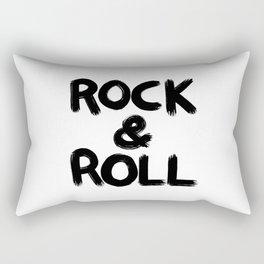 Rock and Roll Rectangular Pillow