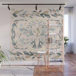 Eucalyptus square Wall Mural