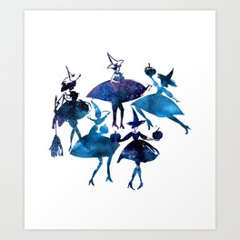 Dance with the Witches Art Print