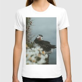 Puffin in the Westfjords T-shirt