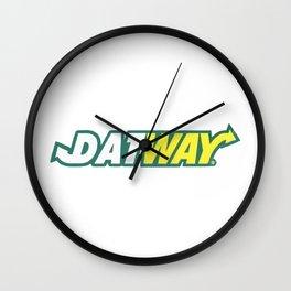 """Migoss """"DATEWAY"""" Shirt Wall Clock"""