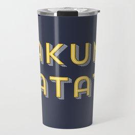 Hakuna matata naviblue Travel Mug