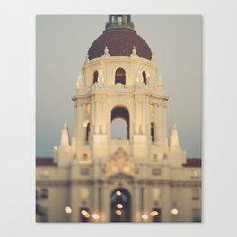 Pasadena. City Hall No.1 Canvas Print