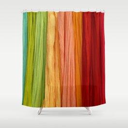 foldedcolors Shower Curtain