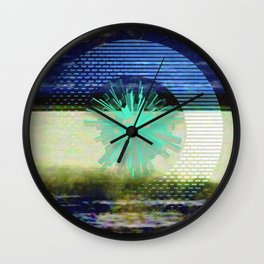 reset button Wall Clock