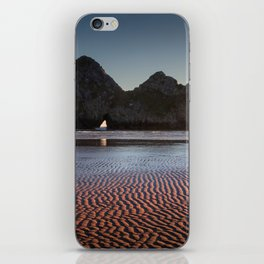 Three Cliffs Bay Gower peninsula iPhone Skin