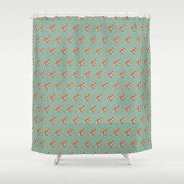 Kangaroos on green Shower Curtain