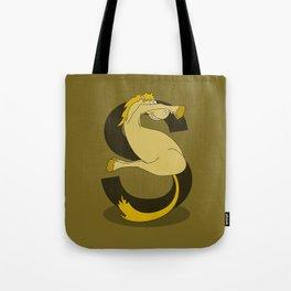Monogram S Pony Tote Bag