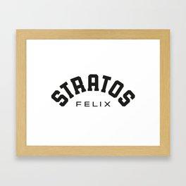 STRATOSFELIX Framed Art Print