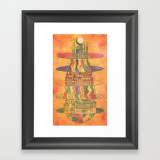 Subspaces Framed Art Print