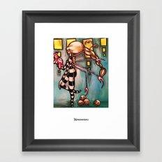 Non-robotic Framed Art Print