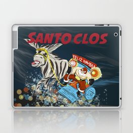 El Santo Clos Rides Again Laptop & iPad Skin
