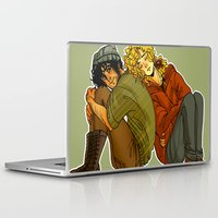 enjolras Laptop & iPad Skins featuring pillowpet R by ginkohs