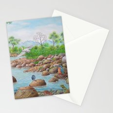 A Day of Forest(7). (the river ecosystem) Stationery Cards
