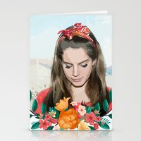 ultraviolence Stationery Cards featuring daddy's girl by Tiaguh
