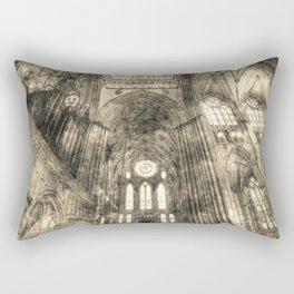 York Minster Vintage Rectangular Pillow