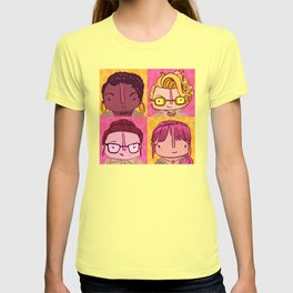 Homage to Female Ghostbusters T-shirt