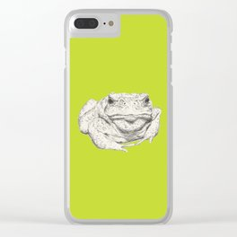 Toad Face Clear iPhone Case
