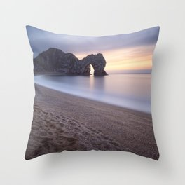 The Door Throw Pillow
