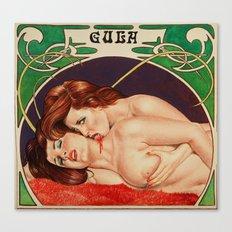 Erotic vampires Canvas Print