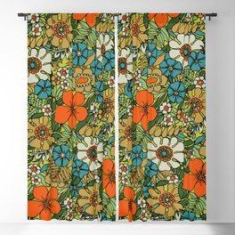 70s Plate Blackout Curtain