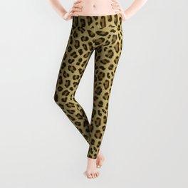 Leopard Animal Print Skin Pattern Leggings