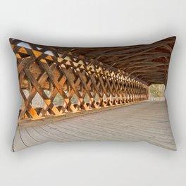 Sachs Covered Bridge Rectangular Pillow