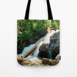 Peaceful Waterfall Tote Bag