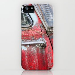 American Classic Car Doorhandle iPhone Case