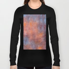 Orange Color Fog Long Sleeve T-shirt