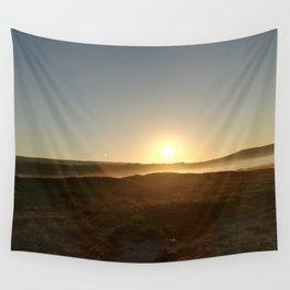 Ocean Sunset Wall Tapestry
