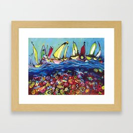 Magnificence Abounds Framed Art Print