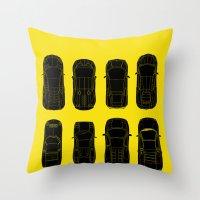lamborghini Throw Pillows featuring Lamborghini Family by Salmanorguk