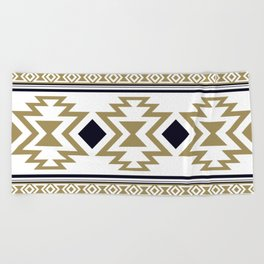 Aztec Ethnic Pattern Art N10 Beach Towel