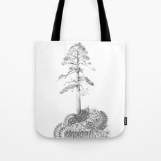 Quilted Forest I  Tote Bag