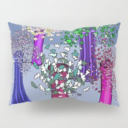 Cascade Flowers Pillow Sham