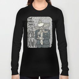 United States of the Upside Down Long Sleeve T-shirt