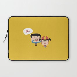 Let's Go! (Yellow Tales Series #3) Laptop Sleeve
