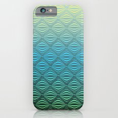 Warp Field (Blue Yellow Green) Slim Case iPhone 6s